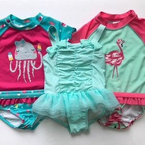 Swimsuits size 2t girls